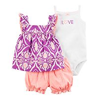 Baby Girl Carter's Ikat Tank Top,