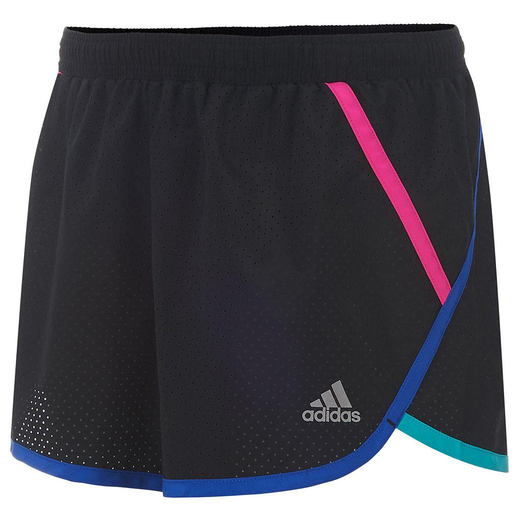 Girls 7-16 adidas Woven Mesh Active Shorts