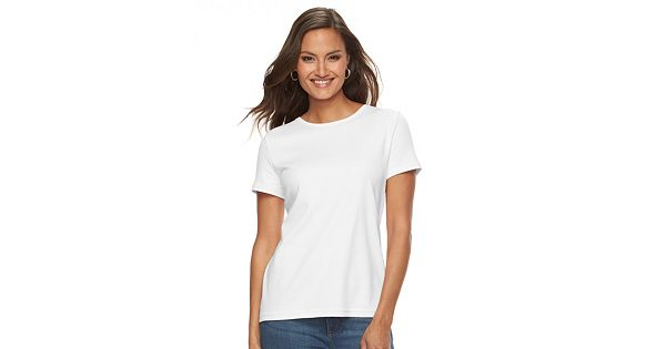 Women S Croft Amp Barrow 174 Essential Crewneck Tee