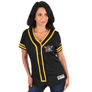 Women's Majestic Pittsburgh Pirates Absolute Victory Jersey