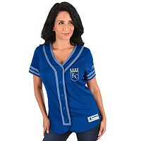 Women's Majestic Kansas City Royals Absolute Victory Jersey