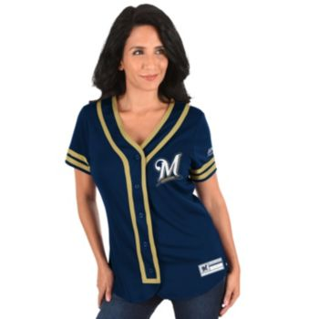 Women's Majestic Milwaukee Brewers Absolute Victory Jersey