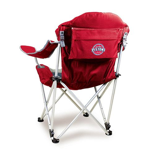 Picnic Time Detroit Pistons Reclining Camp Chair