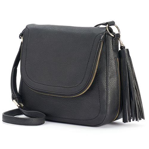 Apt. 9® Ruby Fishmouth Crossbody Bag