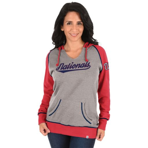 Women's Majestic Washington Nationals Absolute Confidence Hoodie