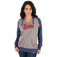 Women's Majestic Minnesota Twins Absolute Confidence Hoodie