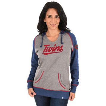 Women's Majestic Minnesota Twins Absolute Confidence Hoodie