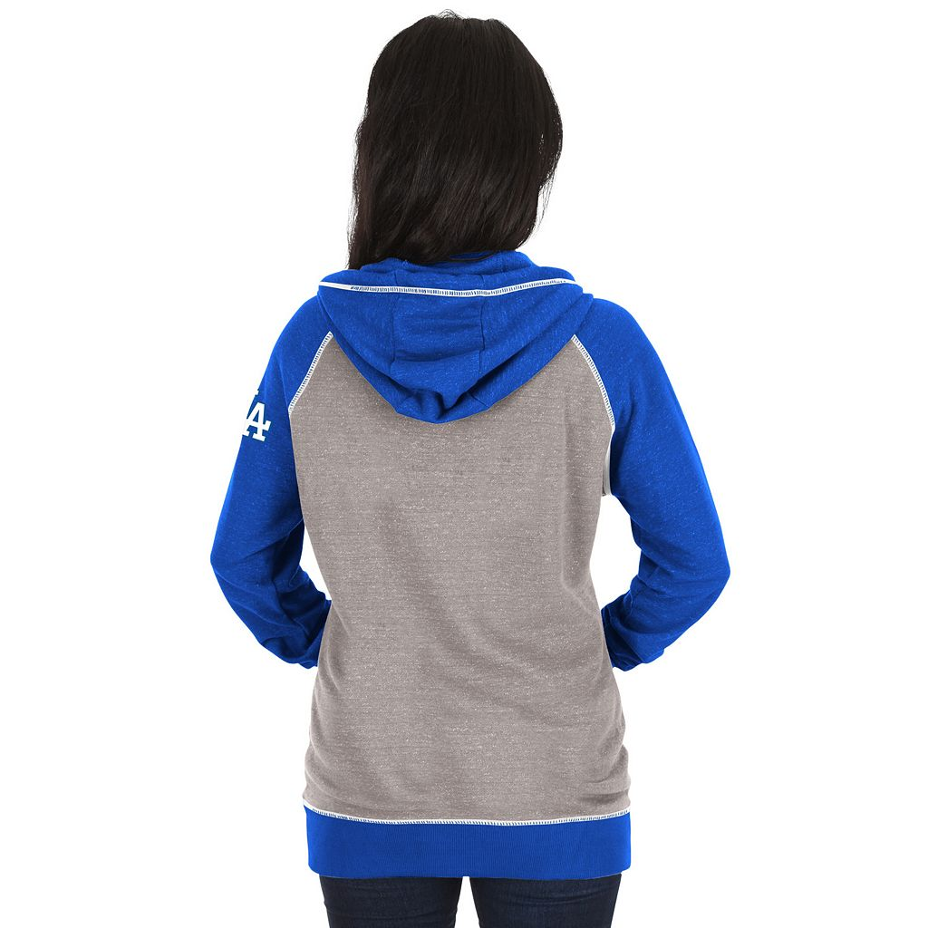 Women's Majestic Los Angeles Dodgers Absolute Confidence Hoodie
