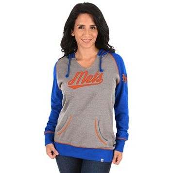 Women's Majestic New York Mets Absolute Confidence Hoodie