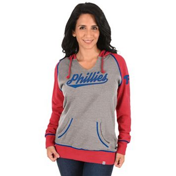 Women's Majestic Philadelphia Phillies Absolute Confidence Hoodie