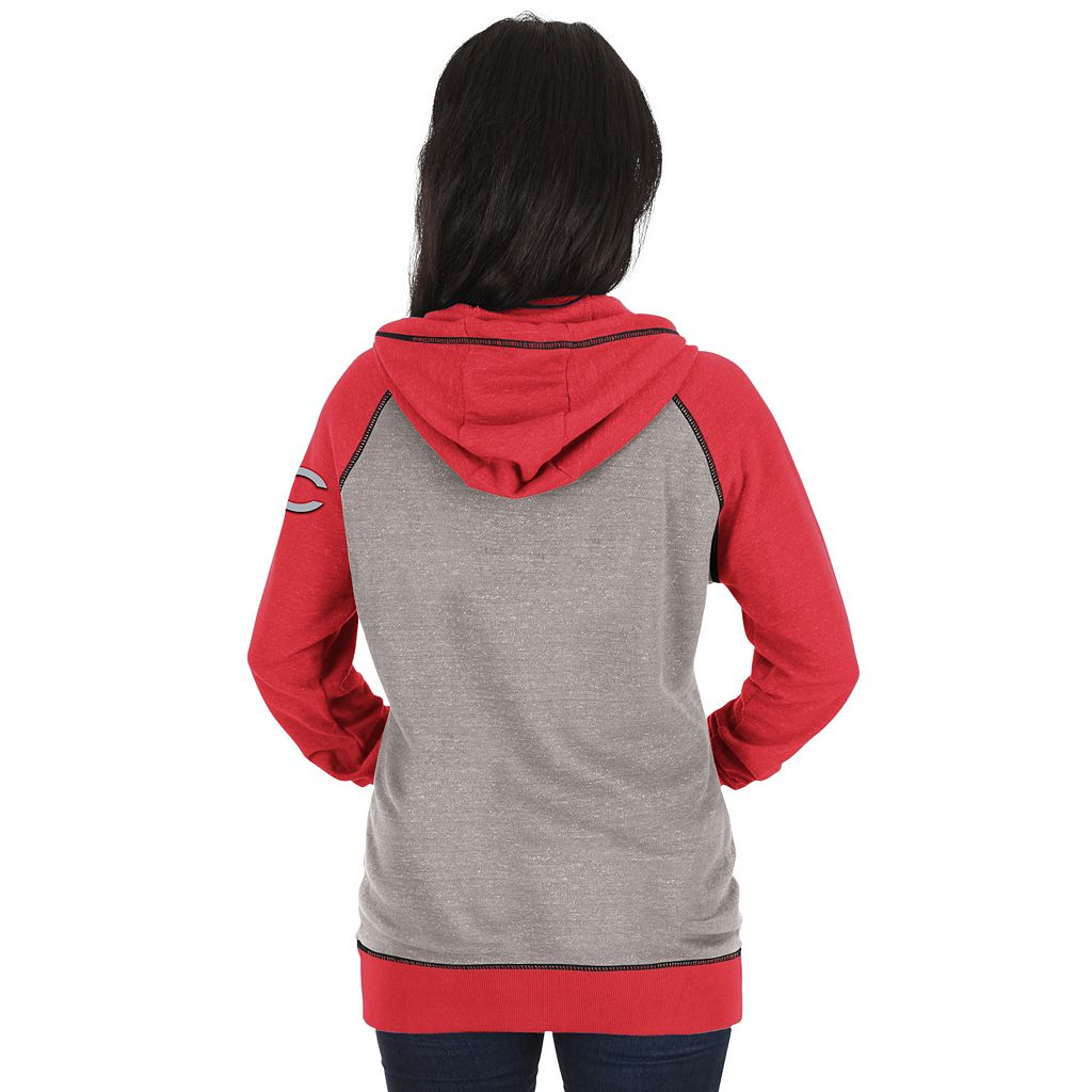 Women's Majestic Cincinnati Reds Absolute Confidence Hoodie