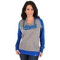 Women's Majestic Kansas City Royals Absolute Confidence Hoodie