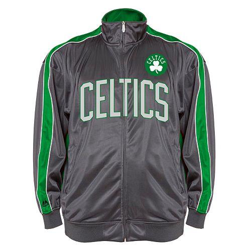sale retailer 3a717 f3346 Big & Tall Majestic Boston Celtics Reflective Track Jacket