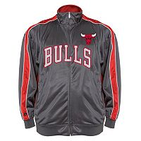 Big & Tall Majestic Chicago Bulls Reflective Track Jacket