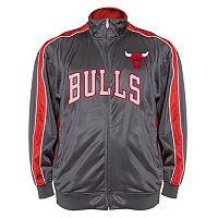 Big & Tall Majestic Chicago Bulls Reflective Track Jacket