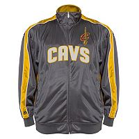 Big & Tall Majestic Cleveland Cavaliers Reflective Track Jacket