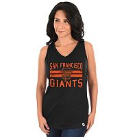 Women's Majestic San Francisco Giants Four Seamer Tank