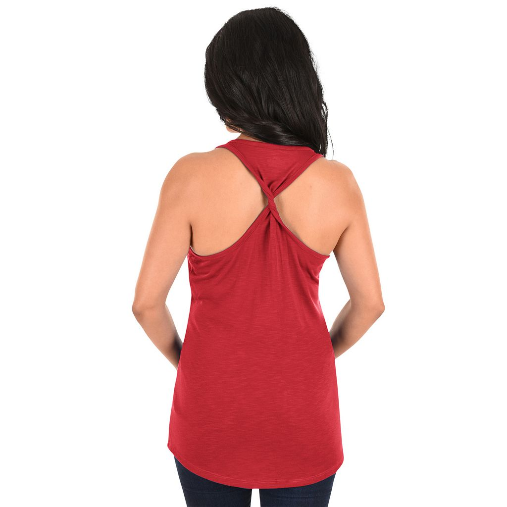 Women's Majestic Los Angeles Angels of Anaheim Four Seamer Tank