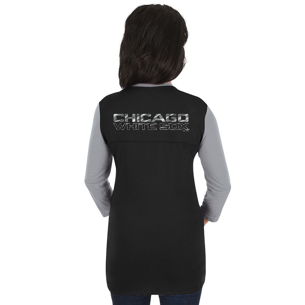 Women's Majestic Chicago White Sox Above Average Tee