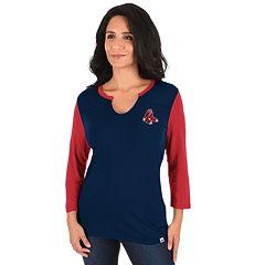 Women's Majestic Boston Red Sox Above Average Tee