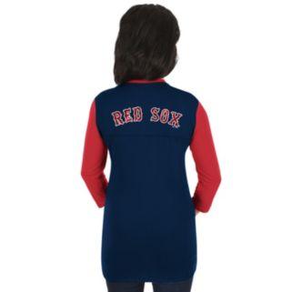 Women's Majestic Boston Red Sox Above Average Tee