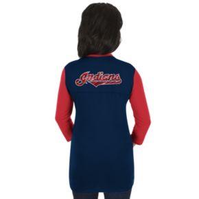 Women's Majestic Cleveland Indians Above Average Tee