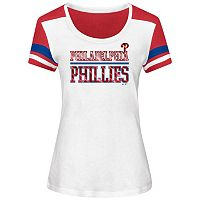 Women's Majestic Philadelphia Phillies Overwhelming Victory Tee