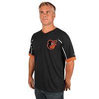 Men's Majestic Baltimore Orioles Emergance V-Neck Tee