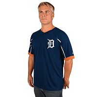 Men's Majestic Detroit Tigers Emergance V-Neck Tee