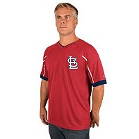 Men's Majestic St. Louis Cardinals Emergance V-Neck Tee