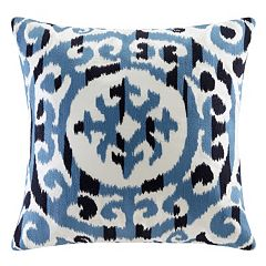 INK+IVY Mead Medallion Embroidered Throw Pillow