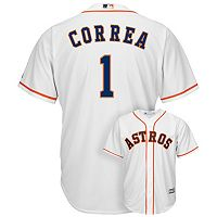 Men's Majestic Houston Astros Carlos Correa Cool Base Replica MLB Jersey