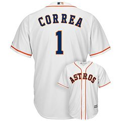 Men's Majestic Houston Astros Carlos Correa Cool Base Replica MLB Jersey