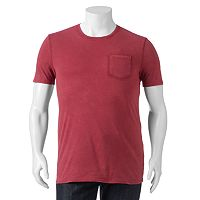 Big & Tall SONOMA Goods for Life™ Sun-Washed Short Sleeve Pocket Tee
