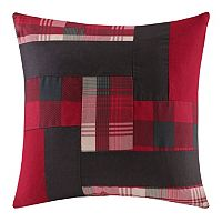 Woolrich Patchwork Quilted Throw Pillow