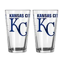 Boelter Brands Kansas City Royals 2-Pack Pint Glass Set
