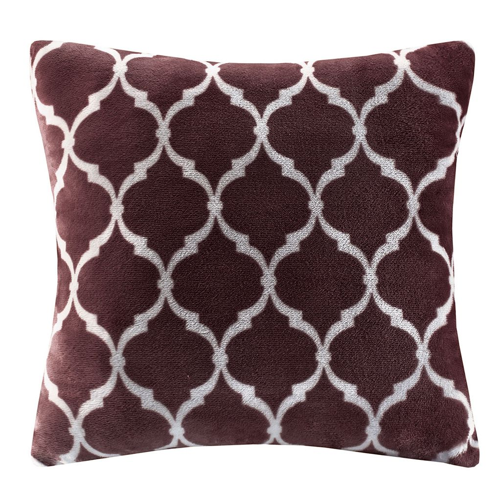 Madison Park Ogee Plush Throw Pillow