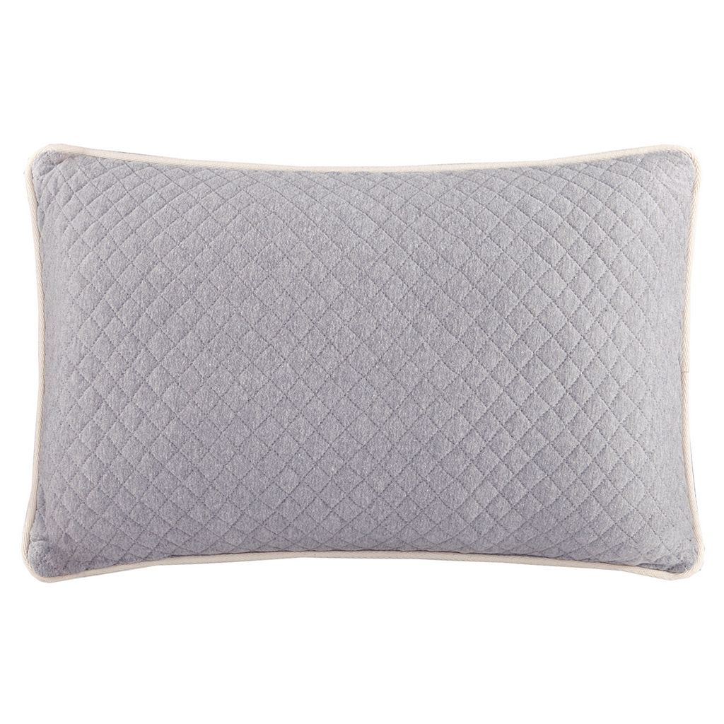 INK+IVY Shelby Quilted Throw Pillow