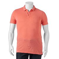 Big & Tall SONOMA Goods for Life™ Sun-Washed Short Sleeve Polo