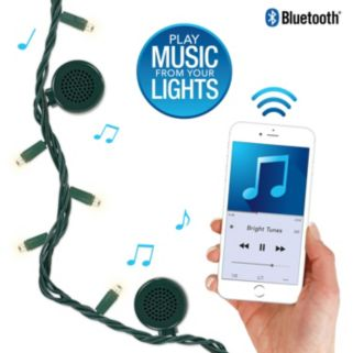 Bright Tunes LED String Lights with Bluetooth Speakers