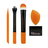 Real Techniques Prep & Prime 5-pc. Makeup Brush & Tool Set