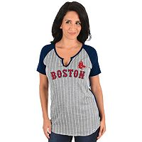 Women's Majestic Boston Red Sox From the Stretch Tee
