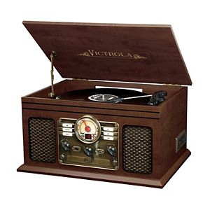3b82fff945ea9 Victrola 7-in-1 Bluetooth Record Player with CD Recording. (16). Regular