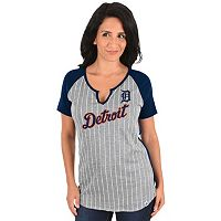 Women's Majestic Detroit Tigers From the Stretch Tee