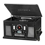Victrola Navigator 8-in-1 Classic Bluetooth Record Player with USB Encoding & 3-speed Turntable