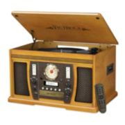 Victrola 7-in-1 Bluetooth Record Player with CD Recording
