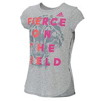 Girls 7-16 adidas Lapped Hem Graphic Tee