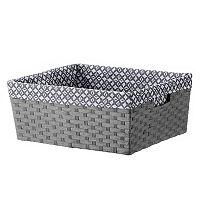 Deals on Basketville Paper Rope Media Bin