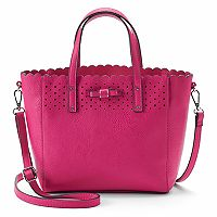 Candie's® Bryant Bow Mid Satchel