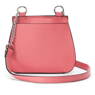 Candie's® Cici Flap Saddle Bag